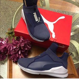 New Fierce Velvet Puma sneakers